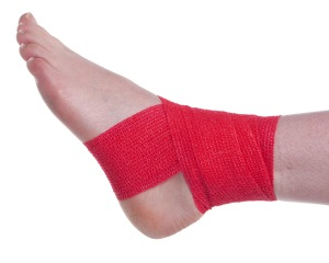 Ankle Support Wrap Cohesive Bandage