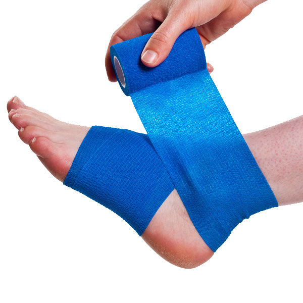 Wrapping a Sprained Ankle Step 2