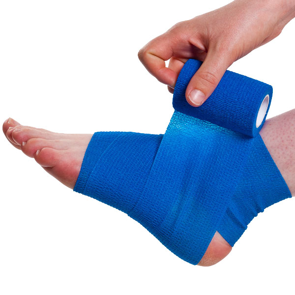 Easy Field Wrap For A Sprained Ankle Physical Sports First Aid Blog