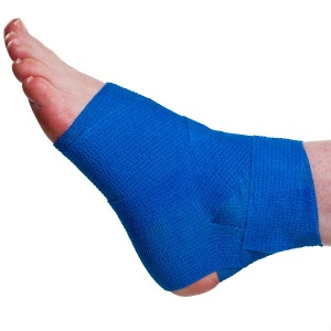 Wrapping a Sprained Ankle Step 6