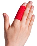 Finger with Cohesive Bandage