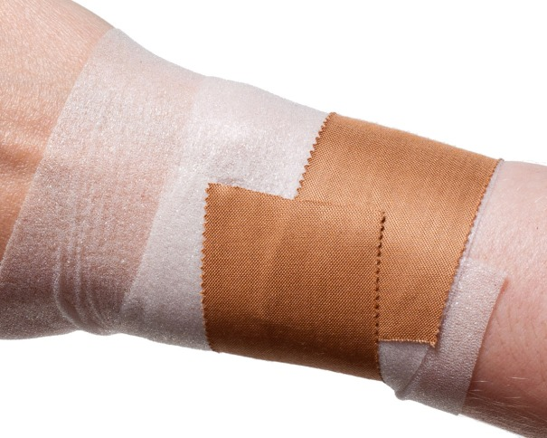 Wrist Taping for Rugby etc... | Step 2: First Anchor of Strapping Tape | Physical Sports First Aid
