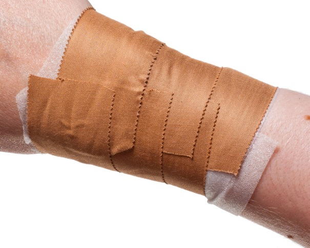 Wrist Taping for Rugby etc... | Step 3: 2nd and 3rd Tape Anchors | Physical Sports First Aid