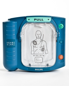 The Heartstart HS1 Defibrillator | Physical Sports First Aid