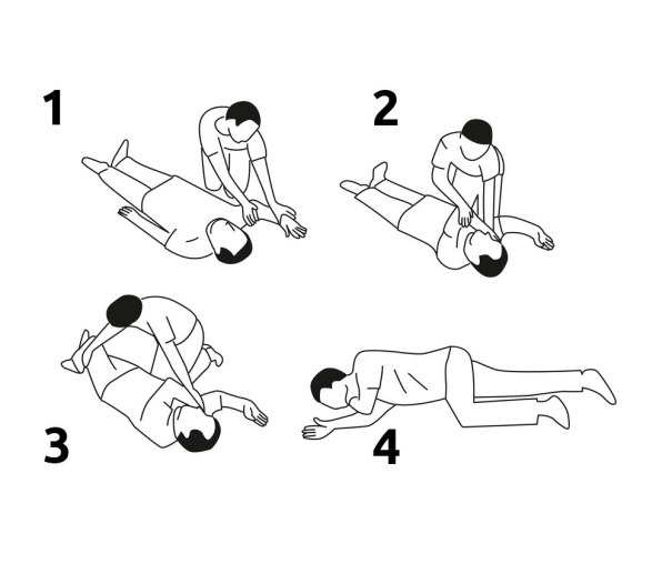 Move a Person into the Recovery Position Step-by-Step | Physical Sports First Aid