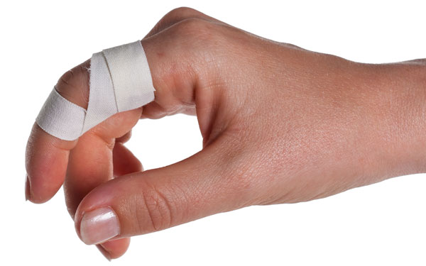 Finger Taping to Prevent Extension | Step 5 | Physical Sports First Aid