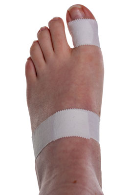 Turf Toe Taping Step 2 | Physical Sports First Aid
