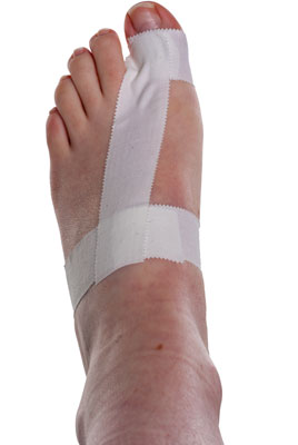 Turf Toe Taping Step 3 | Physical Sports First Aid