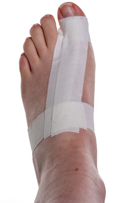 Turf Toe Taping Step 4 | Physical Sports First Aid