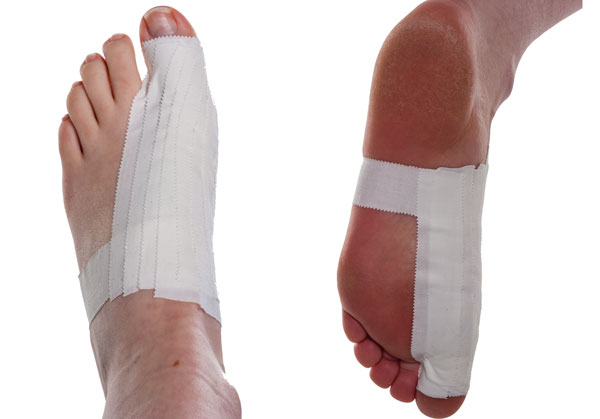 Turf Toe Taping Step 5 | Physical Sports First Aid