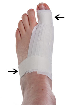 Turf Toe Taping Step 6 | Physical Sports First Aid
