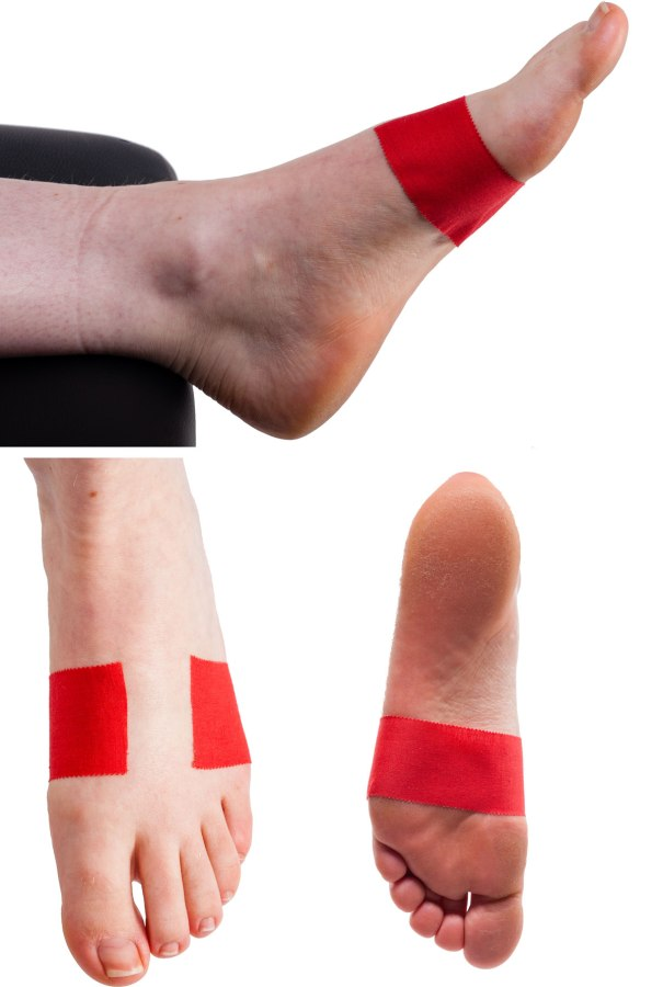 Arch Support Taping Step 1 | Physical Sports First Aid