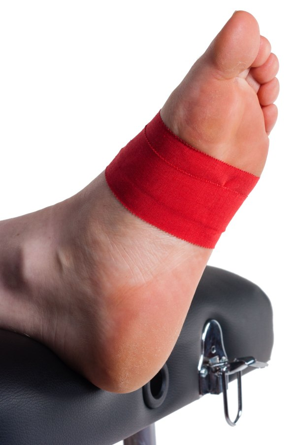 Arch Support Taping Step 2 | Physical Sports First Aid