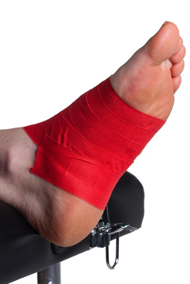 Arch Support Taping Step 3 | Physical Sports First Aid
