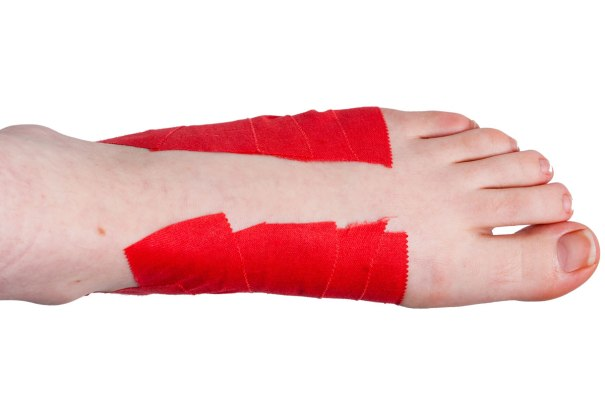 Arch Support Taping Step 4 | Physical Sports First Aid