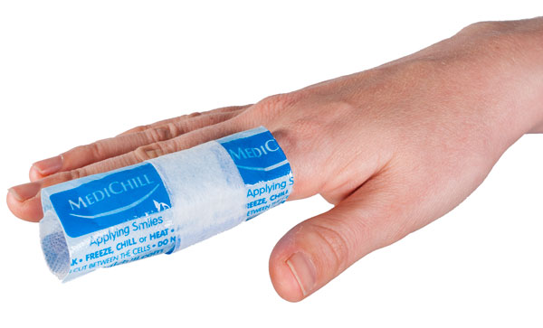 Finger Cold Pack with Medichill Cool CUbes | Physical Sports First Aid