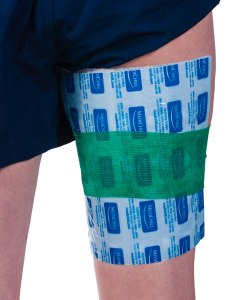 Hamstring Cold Pack With Medichill Cool Cubes | Phsical Sports First Aid