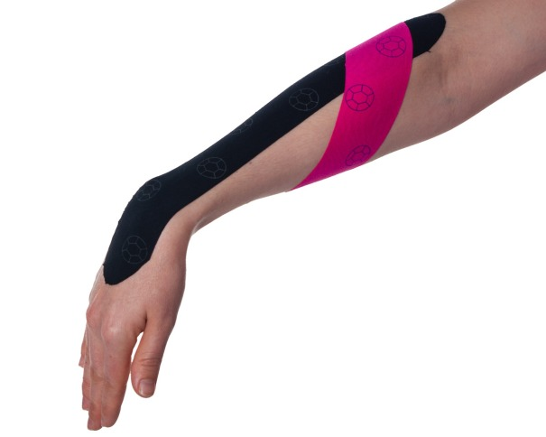 Tennis Elbow Kinesiology Taping Step 3 | Physical Sports First Aid