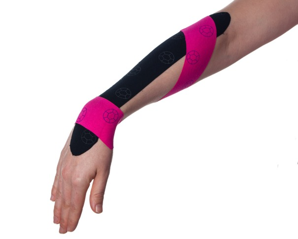 Tennis Elbow Kinesiology Taping Step 4 | Physical Sports First Aid