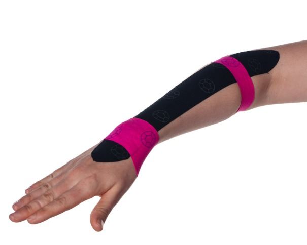 Tennis Elbow Kinesiology Taping Step 5 | Physical Sports First Aid