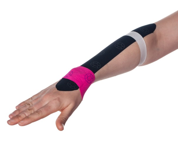 Tennis Elbow Kinesiology Taping Step 6 | Physical Sports First Aid