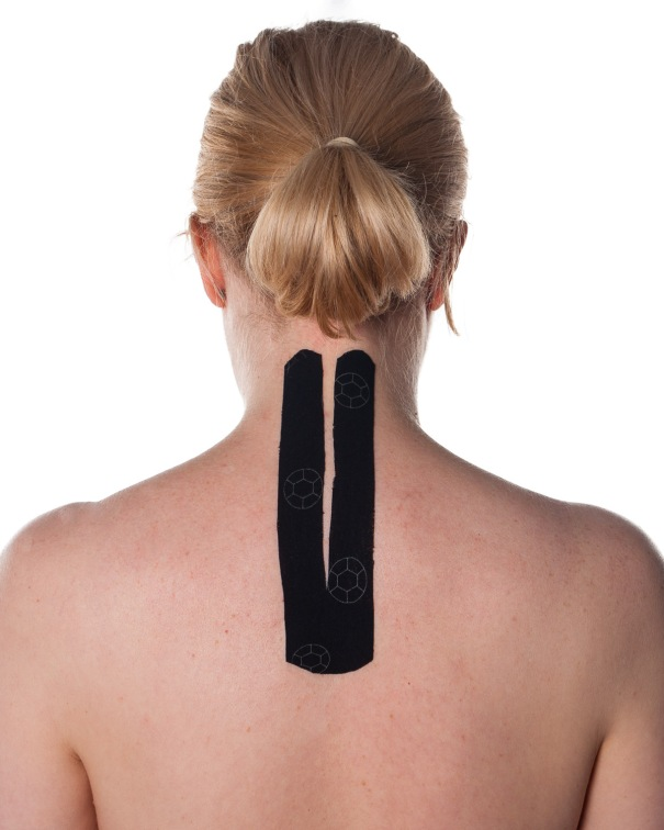 Basic Kinesiology Taping for Neck Pain Step 3 | Physical Sports First Aid