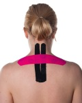 Basic Kinesiology Taping for Neck Pain Step 4   Physical Sports First Aid