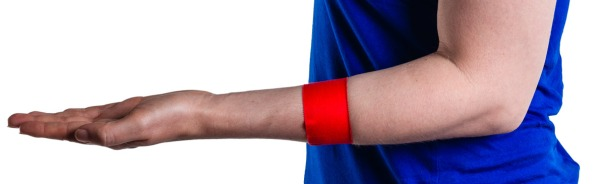 Tennis Elbow Taping Step 2 | Physical  Sports First Aid