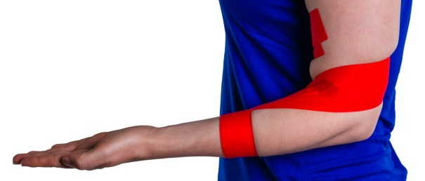 Tennis Elbow Taping Finished | Physical  Sports First Aid