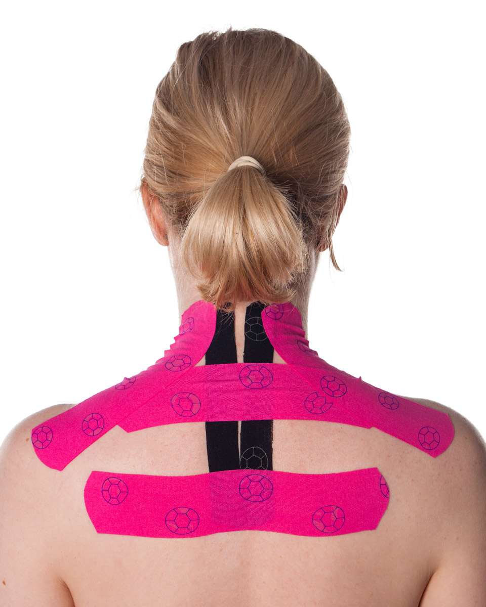 Shoulders And Upper Back Kinesiology Tape
