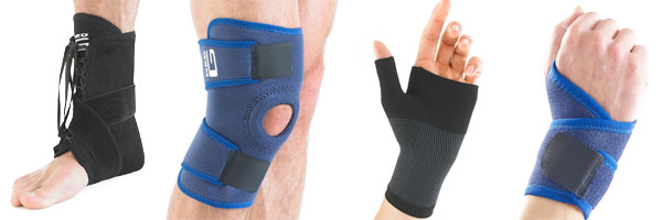 Neo G Supports Available | Physical Sports First Aid