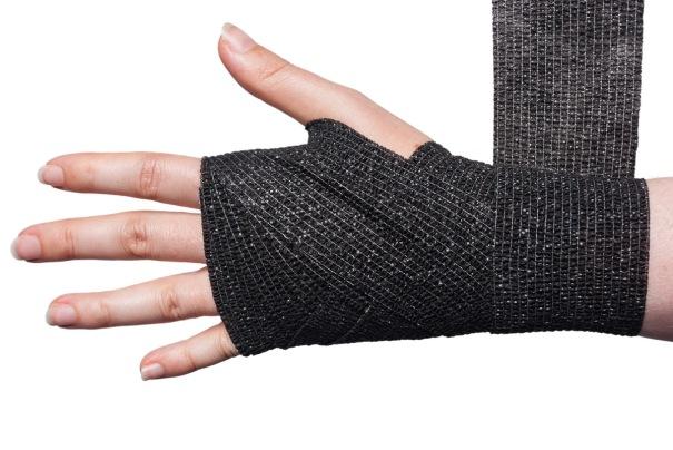 Cohesive Bandage Wrist Wrap Step 7