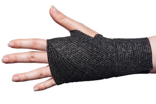Cohesive Bandage Wrist Wrap Step 8
