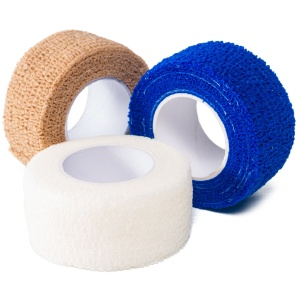 Group Shot of 2.5cm Cohesive Bandage
