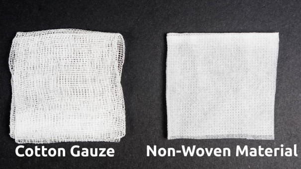 Cotton Gauze vs Non-Woven Material