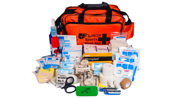 A Sports First Aid Kit